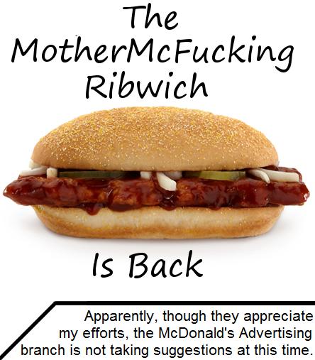 McRib Advertisements