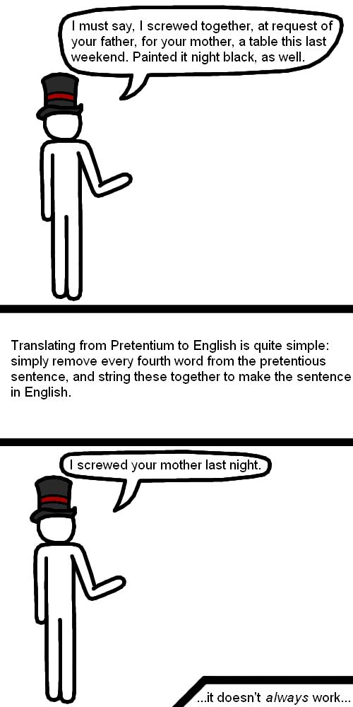 Pretentium Translator