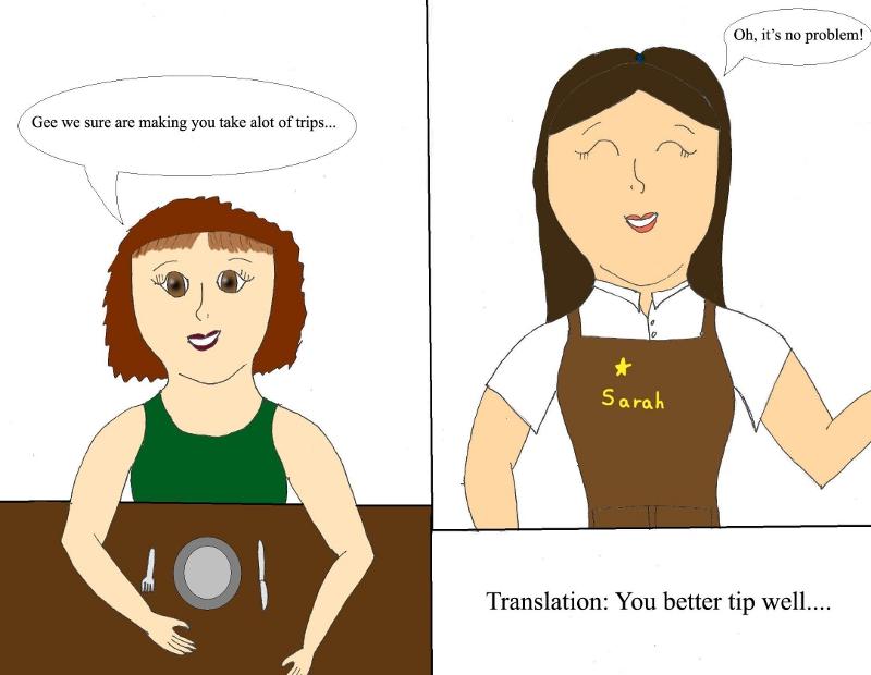 GW - Waiter's Translator #1