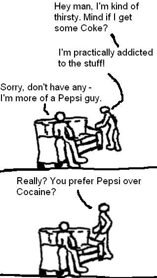 Pepsi/Coke Controversy