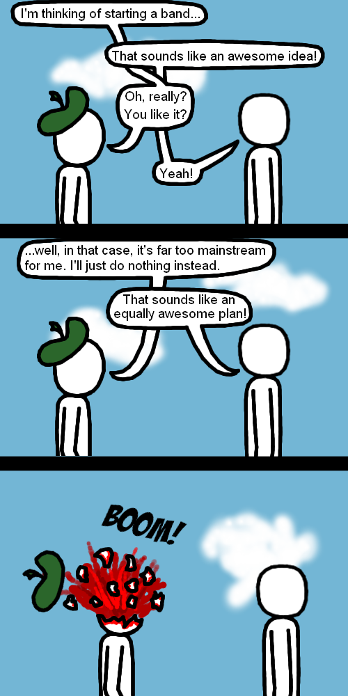 Hipster Paradox